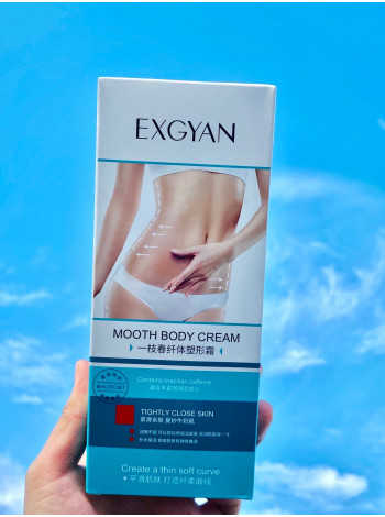 Крем для уменьшения объема в талии Mooth Body Cream Exgyan