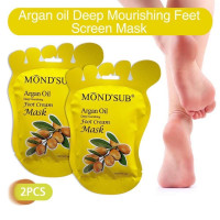 Маска-носочки для ног Mond'Sub Argan Oil Foot Cream Mask
