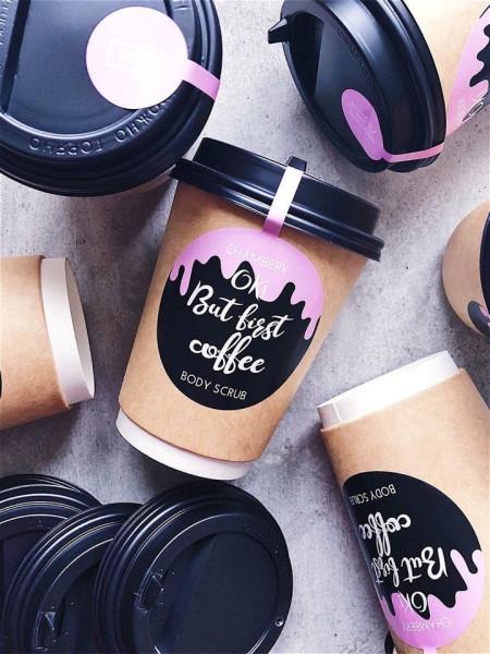 "СКРАБ ДЛЯ ТЕЛА ""OK! BUT FIRST COFFEE"""