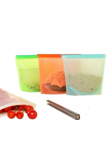 Многоразовые вакуумные силиконовые пакеты (1шт)