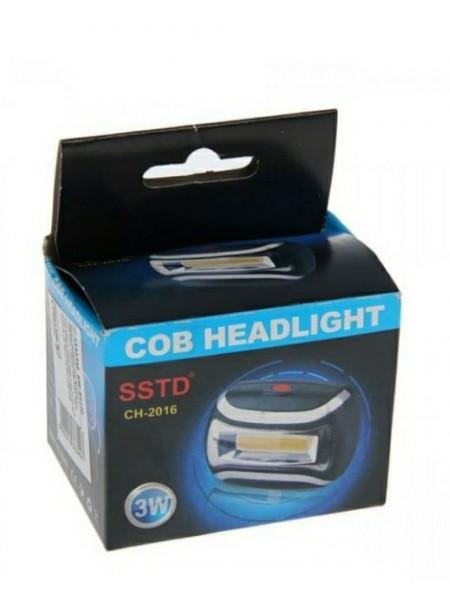 Налобный фонарь COB