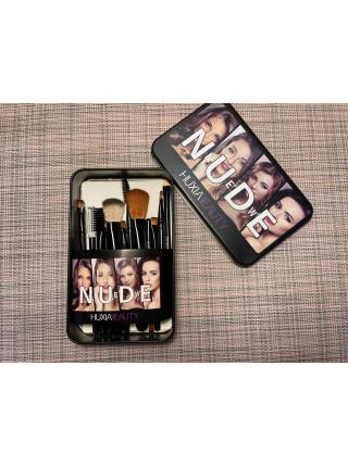 Набор кистей для макияжа от Hudabeauty New NUDE