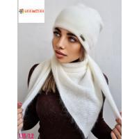 комплект шапка-шарф №241