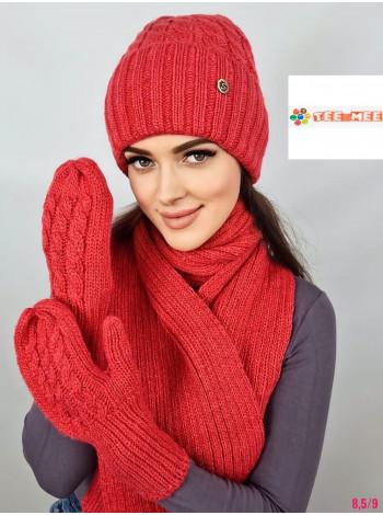КОМПЛЕКТ ШАПКА-ШАРФ №267