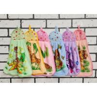 """Быстросохнущие полотенца из микрофибры с петелькой """"Груша"""". 12 шт"""