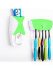 Дозатор зубной пасты с держателем для зубных щеток