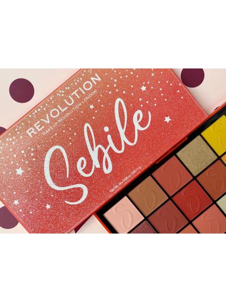 Палитра теней для век Makeup Revolution London Sebile №2