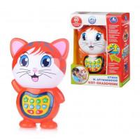 Интерактивная развивающая игрушка Кот-сказочник