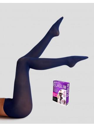 Нервущиеся капроновые колготки ELASLIM (ЧЕРНЫЕ)