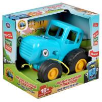 Музыкальная игрушка-каталка «Синий трактор»
