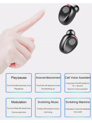 Беспроводные Наушники F9 TWS Bluetooth 5.0