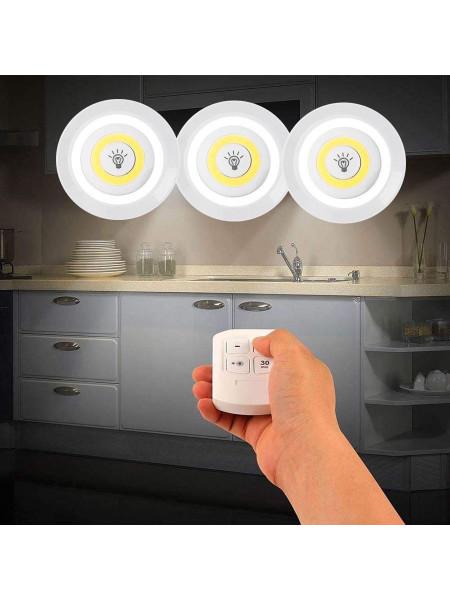 Комплект светодиодных светильников-кнопок