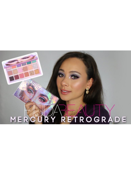Палетка теней Huda Beauty - Mercury Retrograde Palette
