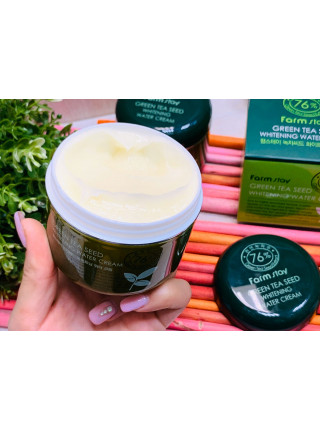Крем Green Tea Seed Whitening Water Cream FarmStay