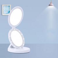 Портативное светодиодное  зеркало для макияжа