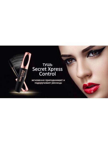 4D удлиняющая тушь Secret Xpress Control