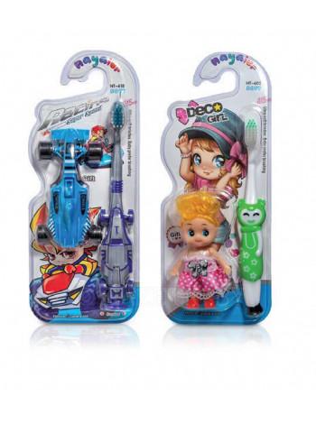 Детские зубные щётки с игрушками