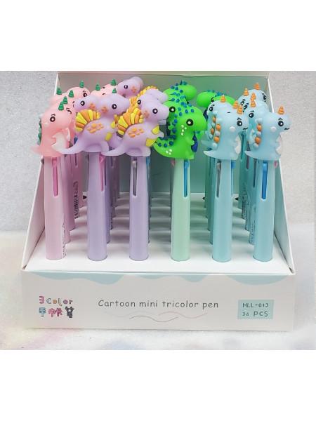 Ручка шариковая 3 цвета на выбор