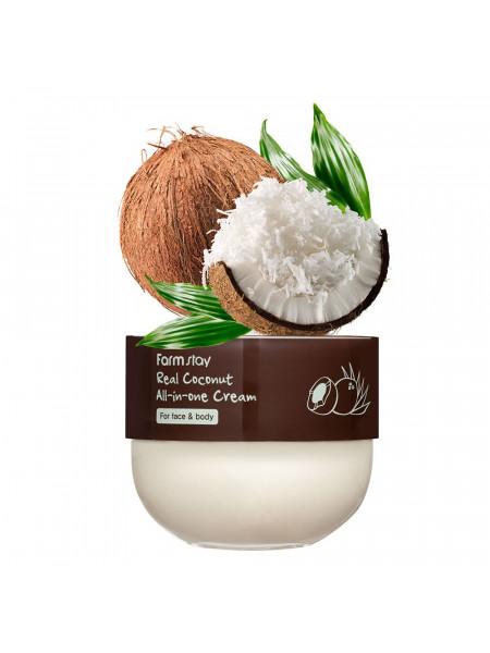 Крем-баттер для лица и тела с кокосом