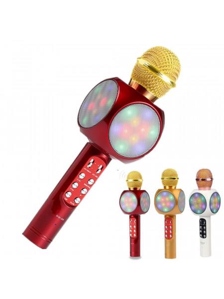 Караоке микрофон WS-1816 светящийся