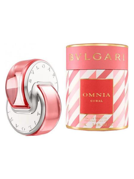 EU Bvlgari Omnia Coral For Women edp 65 ml ( в тубе )