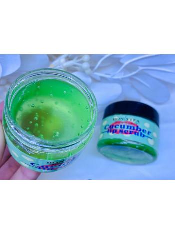 скраб для губ cucumber lip scrub