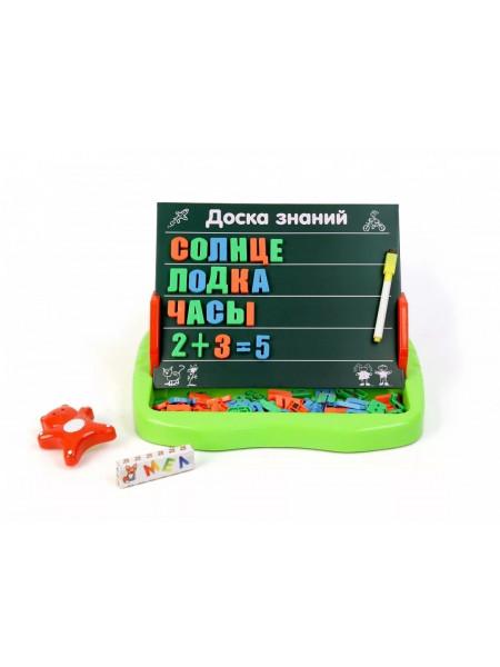 Доска магнитная с алфавитом и цифрами (2 вида)