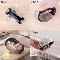 Кухонный пресс для чеснока с ручкой