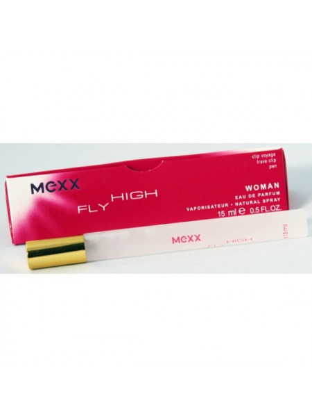 Мини парфюм  Mexx Fly High Woman ,15 мл