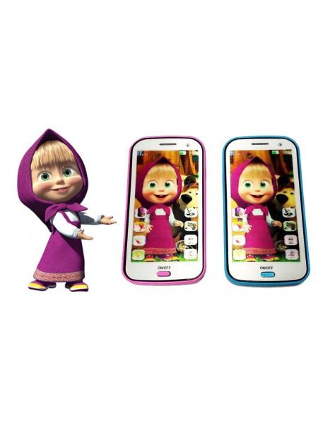 Интерактивный детский телефон Маша