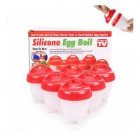 Силиконовые формы для варки яиц без скорлупы