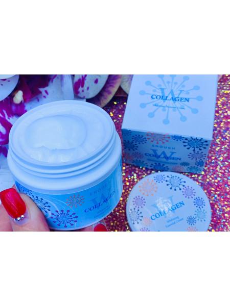 W Collagen Whitening Premium Cream. Крем для лица осветляющий