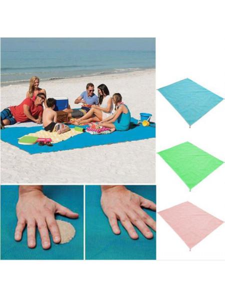 Пляжная подстилка анти-песок sand free mat (200x150)
