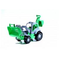 Трактор-экскаватор «Крепыш»