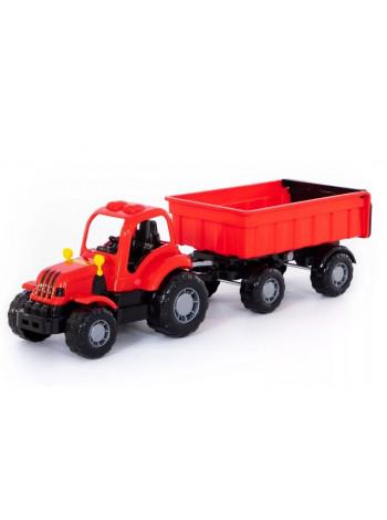Крепыш, трактор с прицепом №1