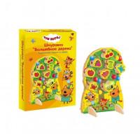 Деревянная игрушка-шнуровка «Волшебное дерево»