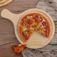 Деревянная разделочная доска для пиццы 24 см и 30 см (на выбор)