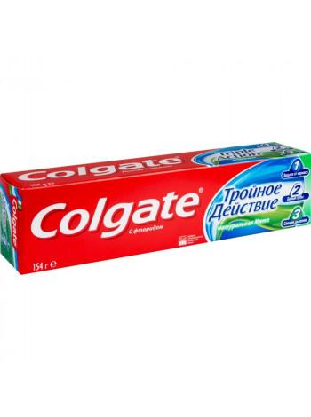 Зубная паста Тройное действие Colgate Натуральная мята с фторидом, 100 мл