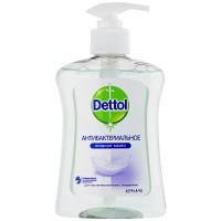 Жидкое мыло антибактериальное Dettol с глицерином для чувствительной кожи, 250 мл