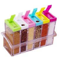 Кухонные контейнеры  для хранения 6 шт
