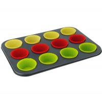 Набор для выпечки кексов 12 ячеек