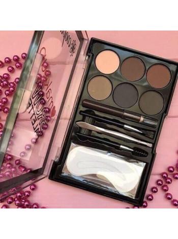 Набор Glazzi I Love Makeup тени для век и бровей