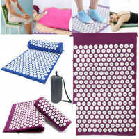 Коврик для точечного массажа с подушкой