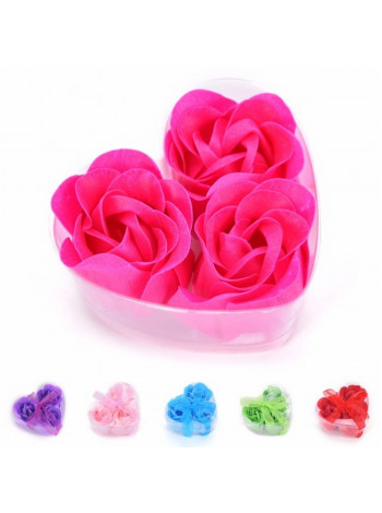 Цветок мыло в виде лепестков роз
