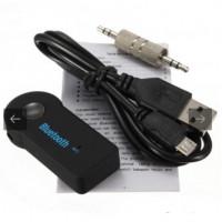 Беспроводной автомобильный приемник AUX Bluetooth Receiver + микрофон