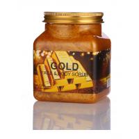 Скраб для тела и лица Wokali Gold face and body scrub с золотом