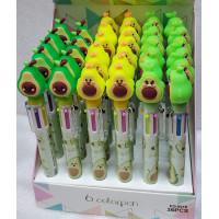 Ручка шариковая авокадо  6 цветов
