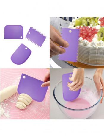 Шпатель для торта 3 штук