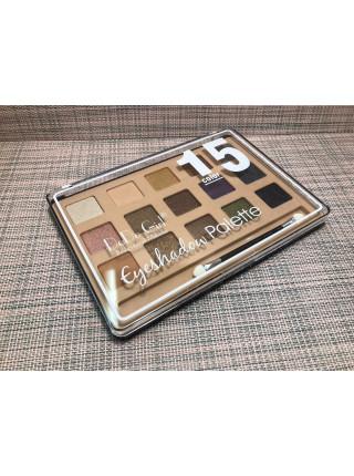 Палетка теней 15 цветов от DoDo girl professional Makeup