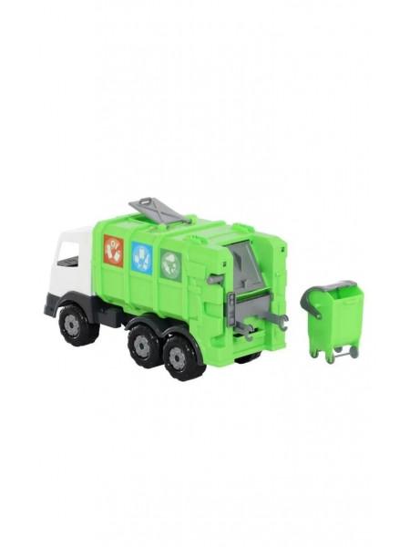 Игрушка мусоровоз с баком